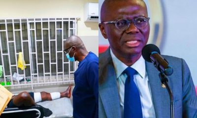 Sanwo-Olu Reacts To Lekki Shooting; Visits Injured Victims In Hospitals