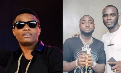 """Your Album Is Wack"" – Davido's Crew Member, Obama DMW Throws Shade At Wizkid"