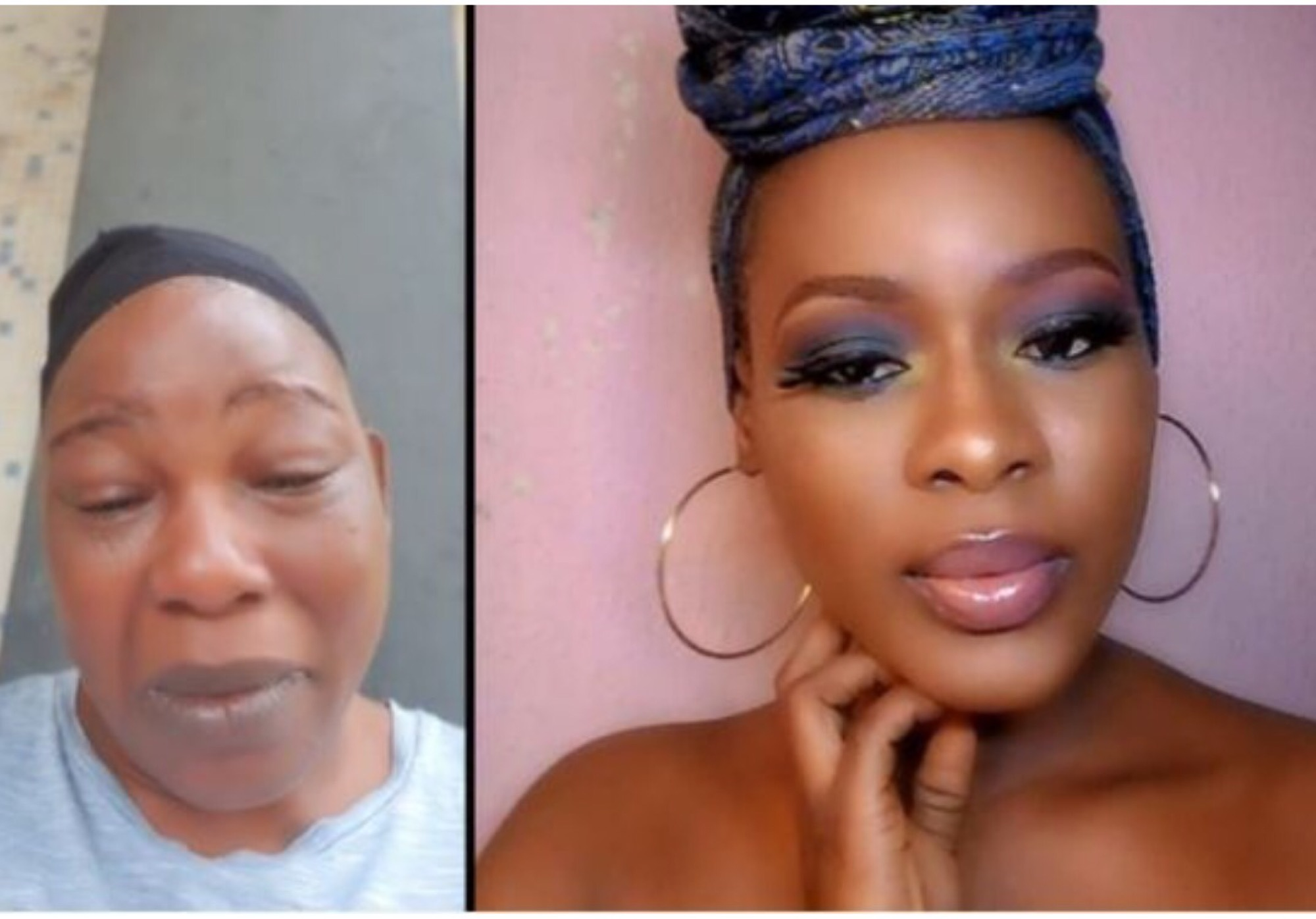 Actress Ada Ameh Finally Arrives In Abuja For Her Daughter's Funeral (Video)