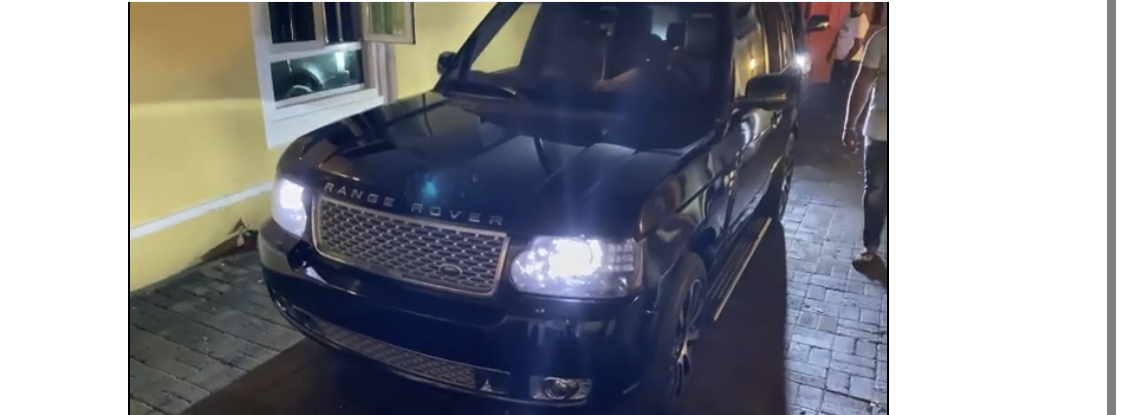 The Range Rover SUV