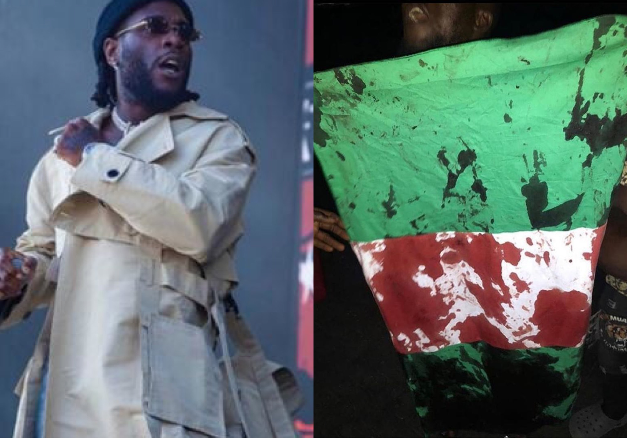 """The Whole Government Should Step Down"" – Burna Boy Reacts To Shooting Of Peaceful Protesters At Lekki Toll Gate"