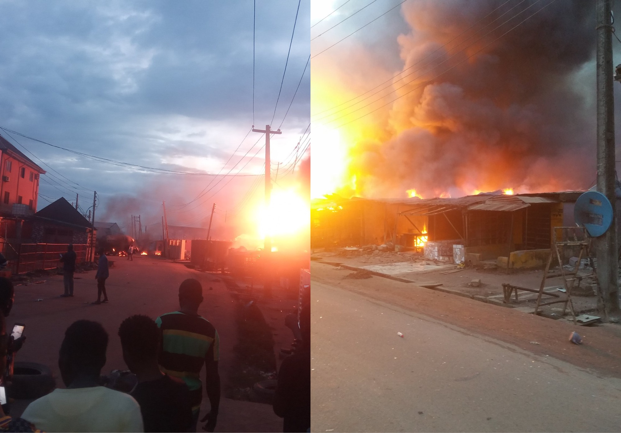 Residents Scamper To Safety As Gas Explosion Rocks Ipaja, Lagos
