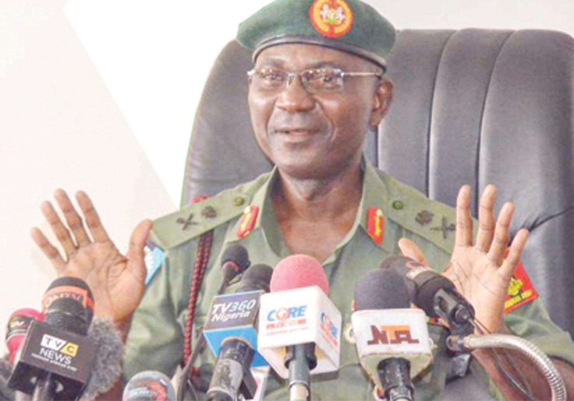 End SARS: Gen. John Enenche Reacts To Lekki Toll Gate Shootings