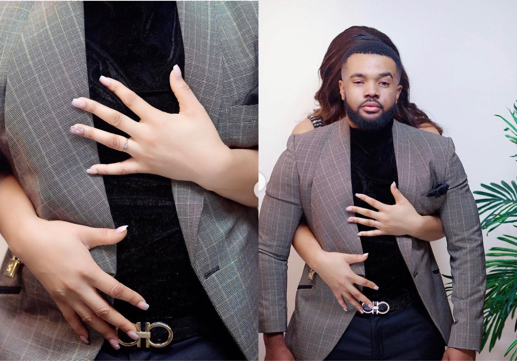 Actor Williams Uchemba's Mystery Fiancée Revealed