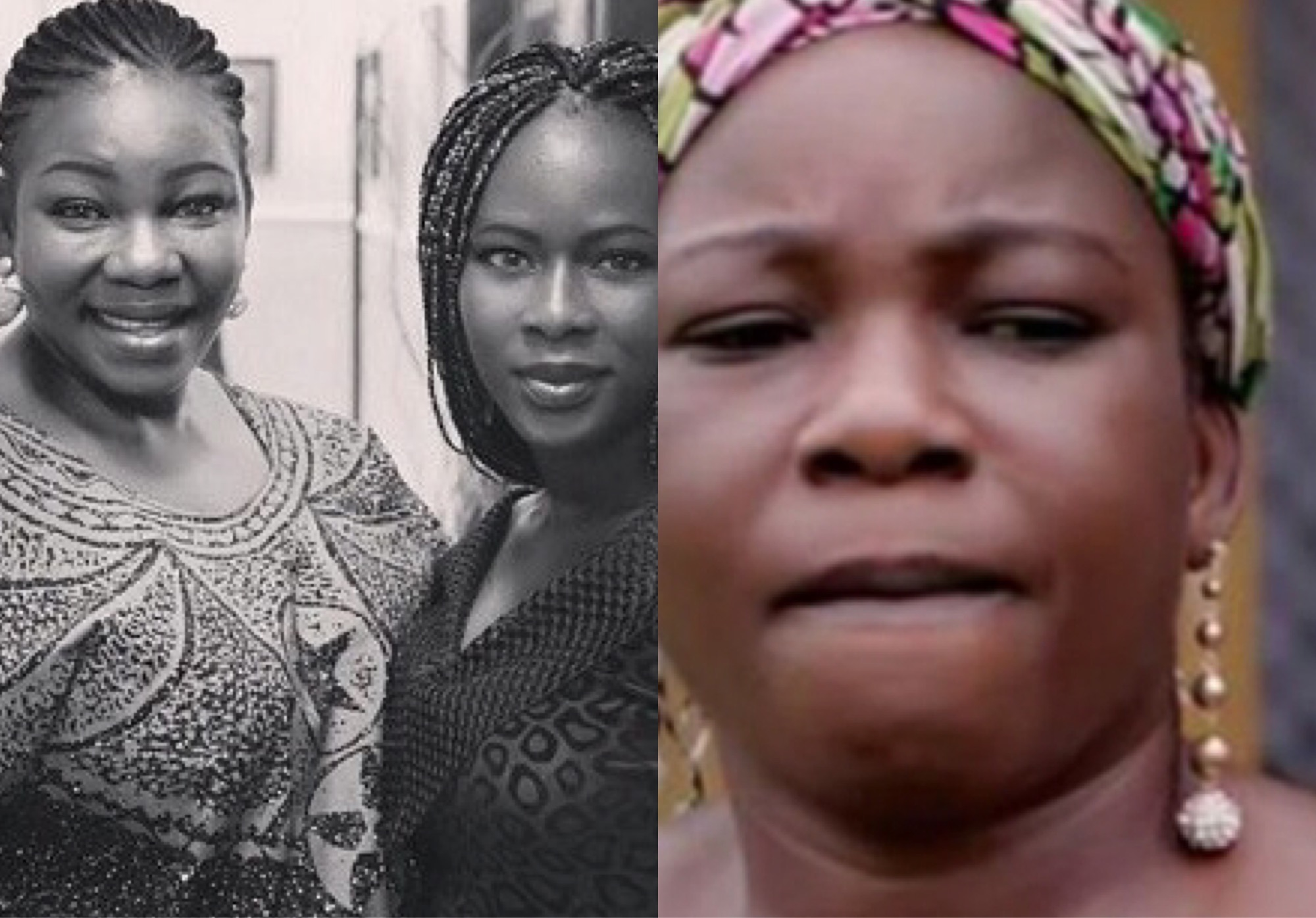 Actress Ada Ameh Breaks Down In Tears At Her Late Daughter's Surprise Birthday Party