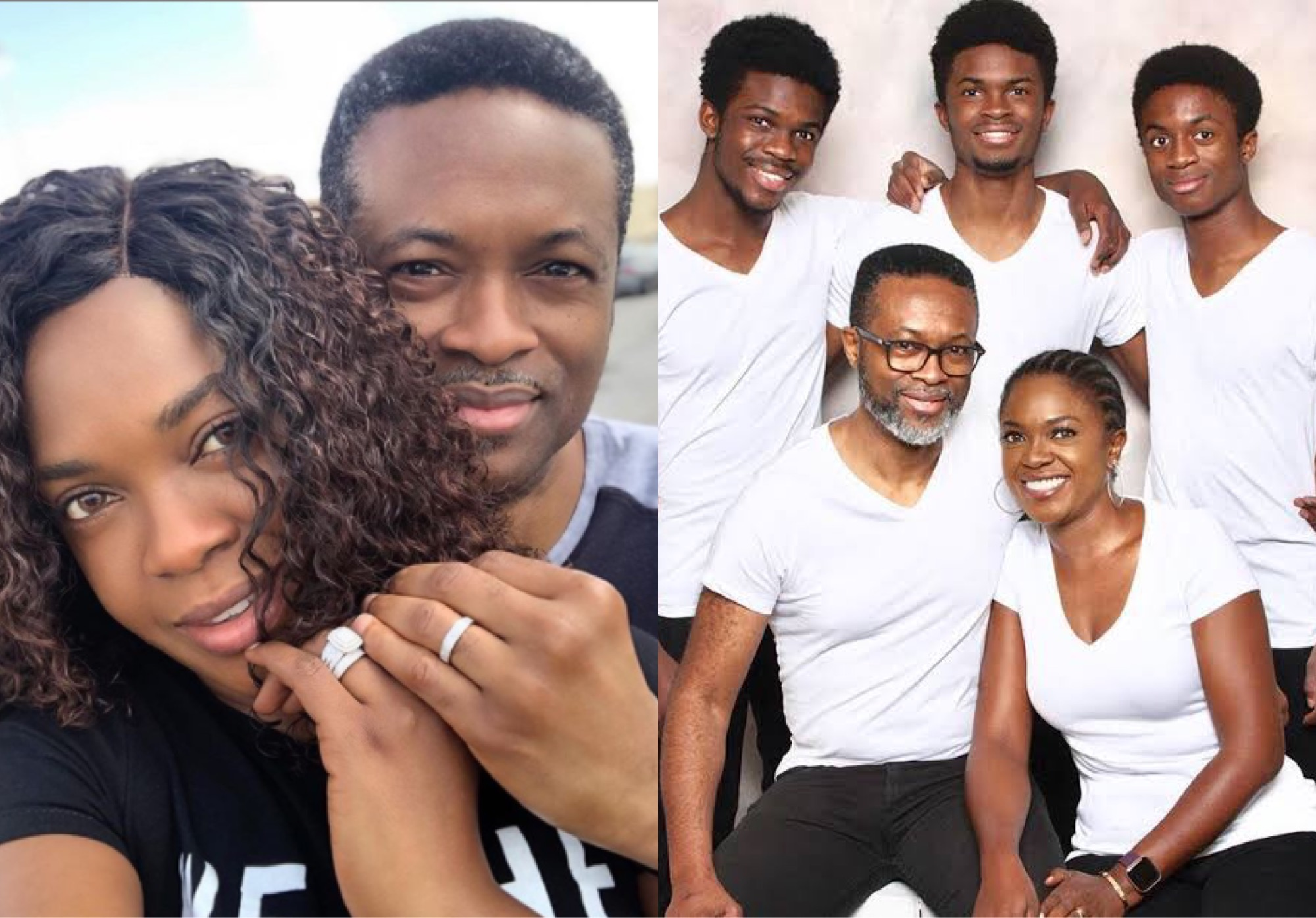 Omoni Oboli, Husband Celebrate 20th Wedding Anniversary