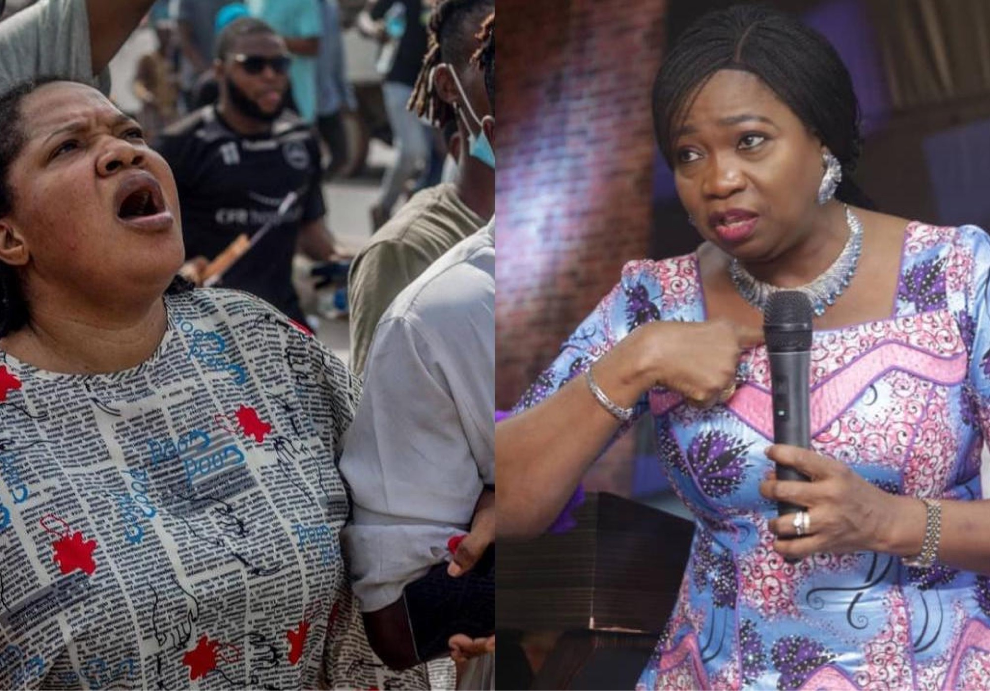 Toyin Abraham Calls Out Abike Dabiri For Blocking Her On Twitter