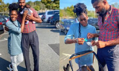 BBNaija's Mike Edwards Shares Lovely Family Photo