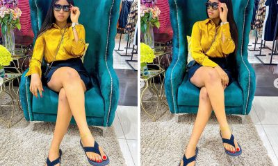 Regina Daniels Shares Stunning Photos On Instagram