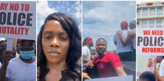 Celebrity Week-In-Review: Tiwa Savage, Falz, Tacha, Others Lead #EndSARS Protest