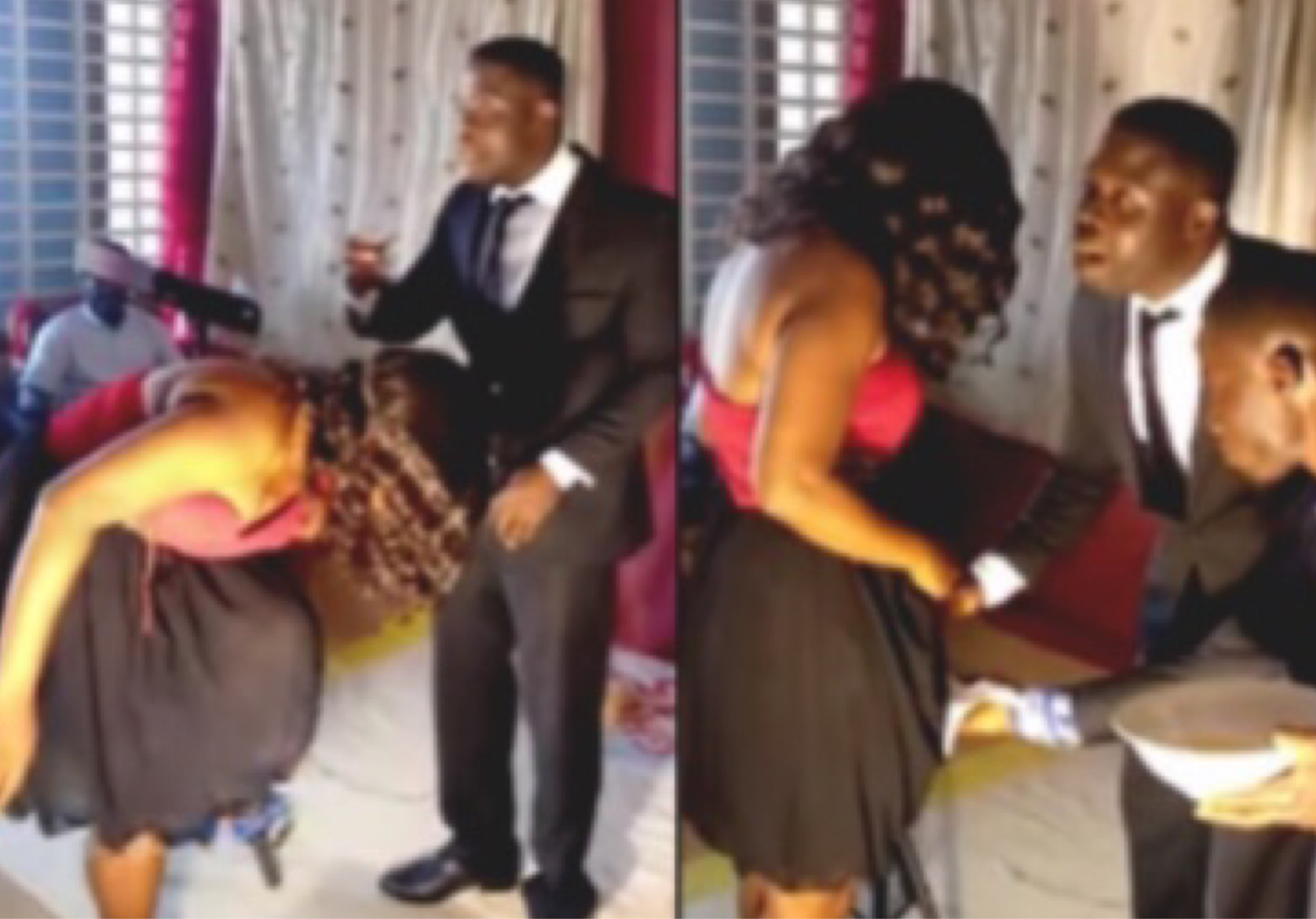 Popular Ghanaian Pastor Shaves Pubic Hair Of Female Members In Church For Deliverance (Video)