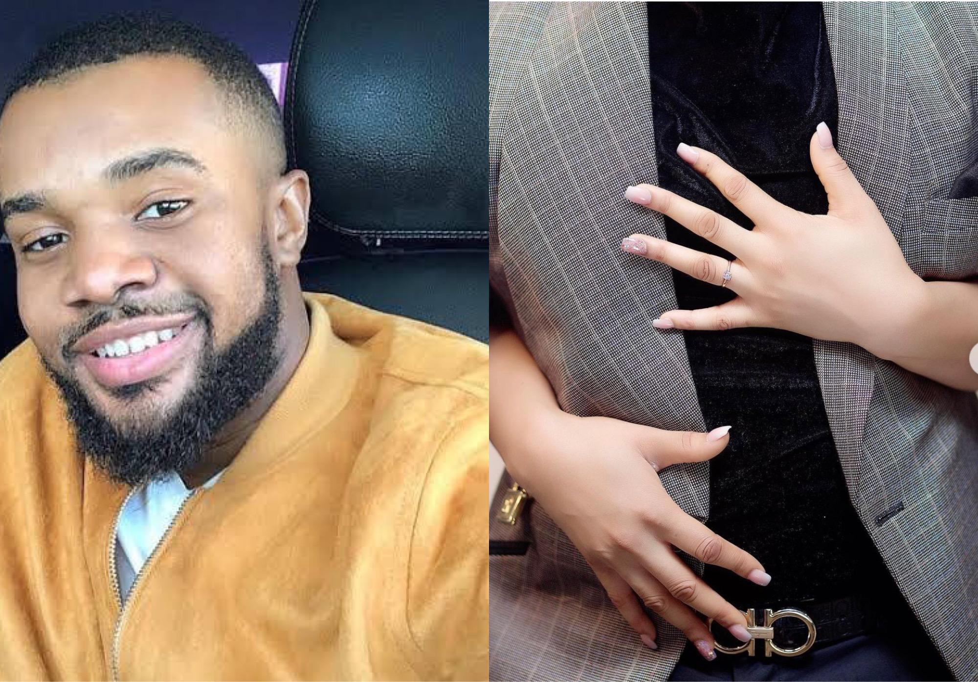 Actor Williams Uchemba Set To Walk Down The Aisle With Mystery Woman