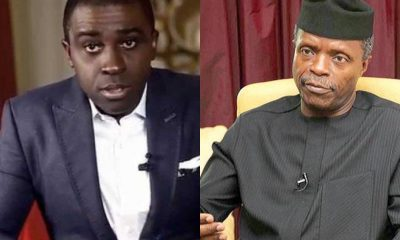 """You Are One Of The Disappointments We Have Seen This Year"" – Frank Edoho Knocks Osinbajo"
