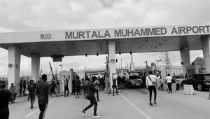 #EndSARS Protesters Block Lagos Airport
