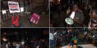 Despite Presidential Speech #EndSARS Protesters Keep Vigil In Lagos Again
