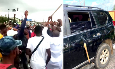 Several Injured As Thugs Attack #EndSARS Protesters, Governor Oyetola In Osun