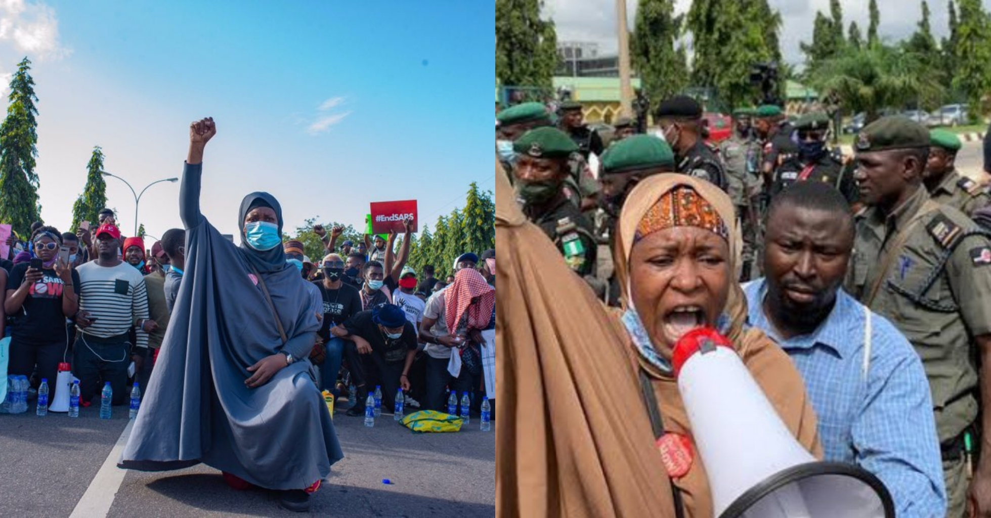 Aisha Yesufu Blows Hot, Issues Warning To FG After Armed Thugs Attacked Protesters In #EndSARS Abuja