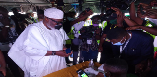 Ondo 2020: Akeredolu In Early Lead As Collation Continues