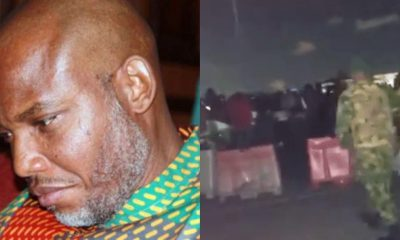 Biafra: Nnamdi Kanu Explodes Over #LekkiMassacre Of #EndSARS Protesters