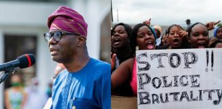 BREAKING: EndSARS: Gov Sanwo-Olu reveals identities of policemen who harassed protesters