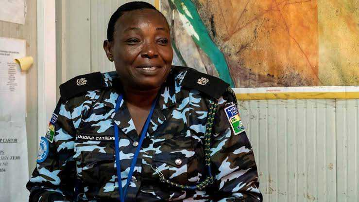 Nigerian Police officer selected for UN Police Award
