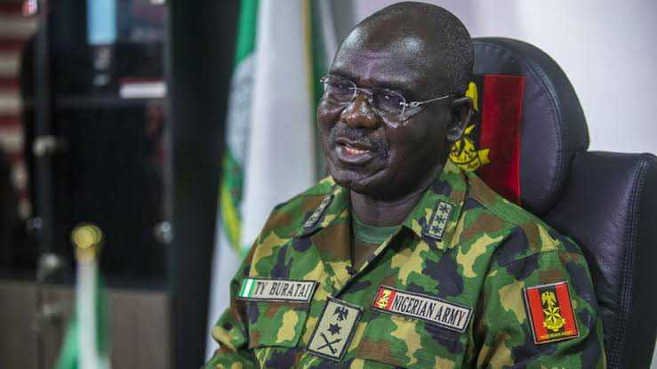 Criminal minds threatening Army with travel ban: Buratai