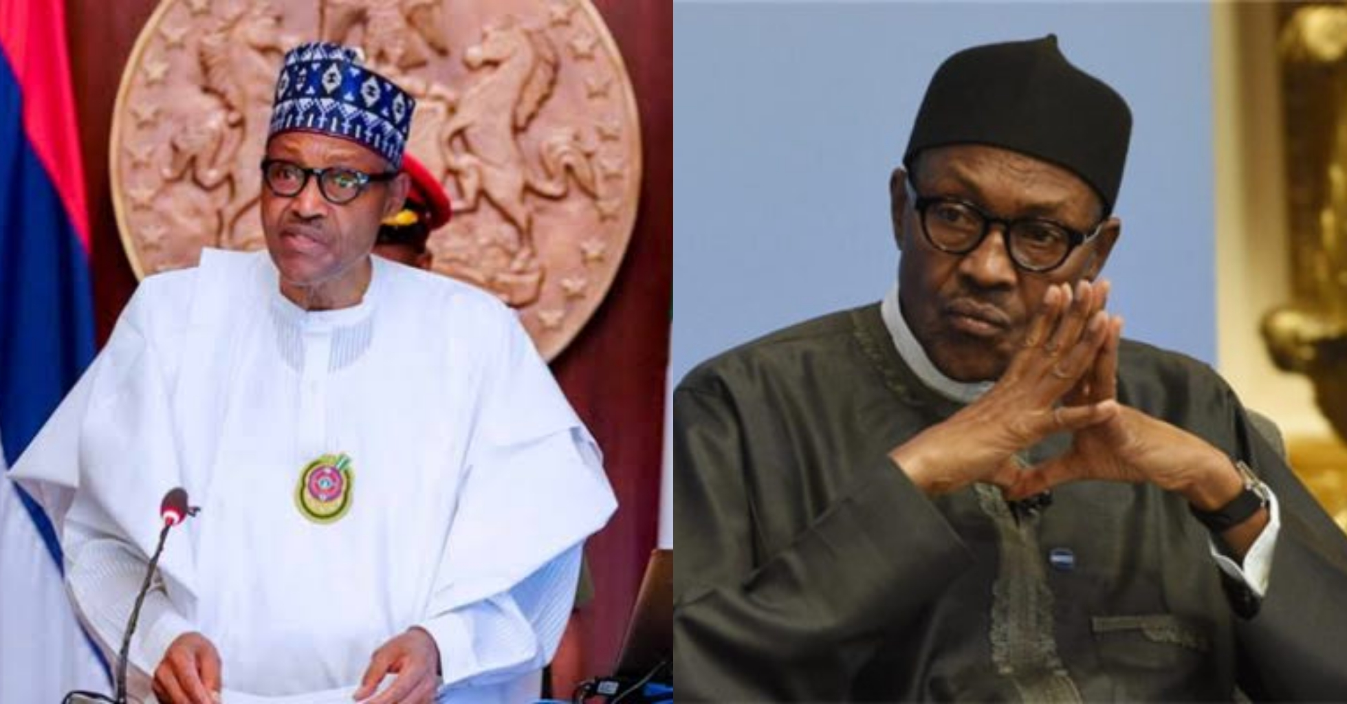 Peace and security will be restored in the country– President Buhari Tells Nigerians