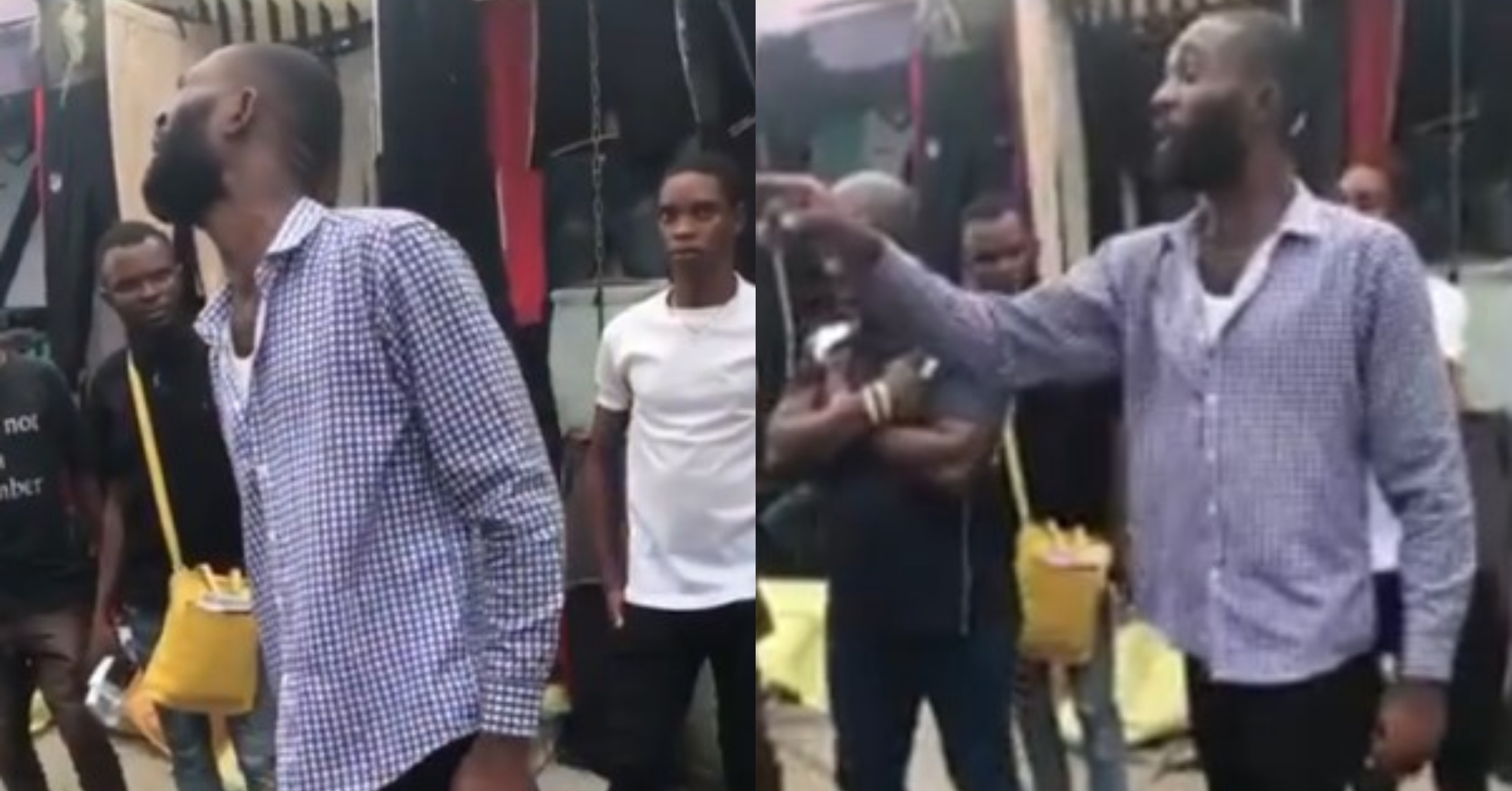 Disbanded SARS officers harass, extort man in Port Harcourt (Video)