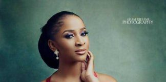 #EndSARS: Actress Adesua Etomi-Wellington replies man who accused her of not coming out to protest