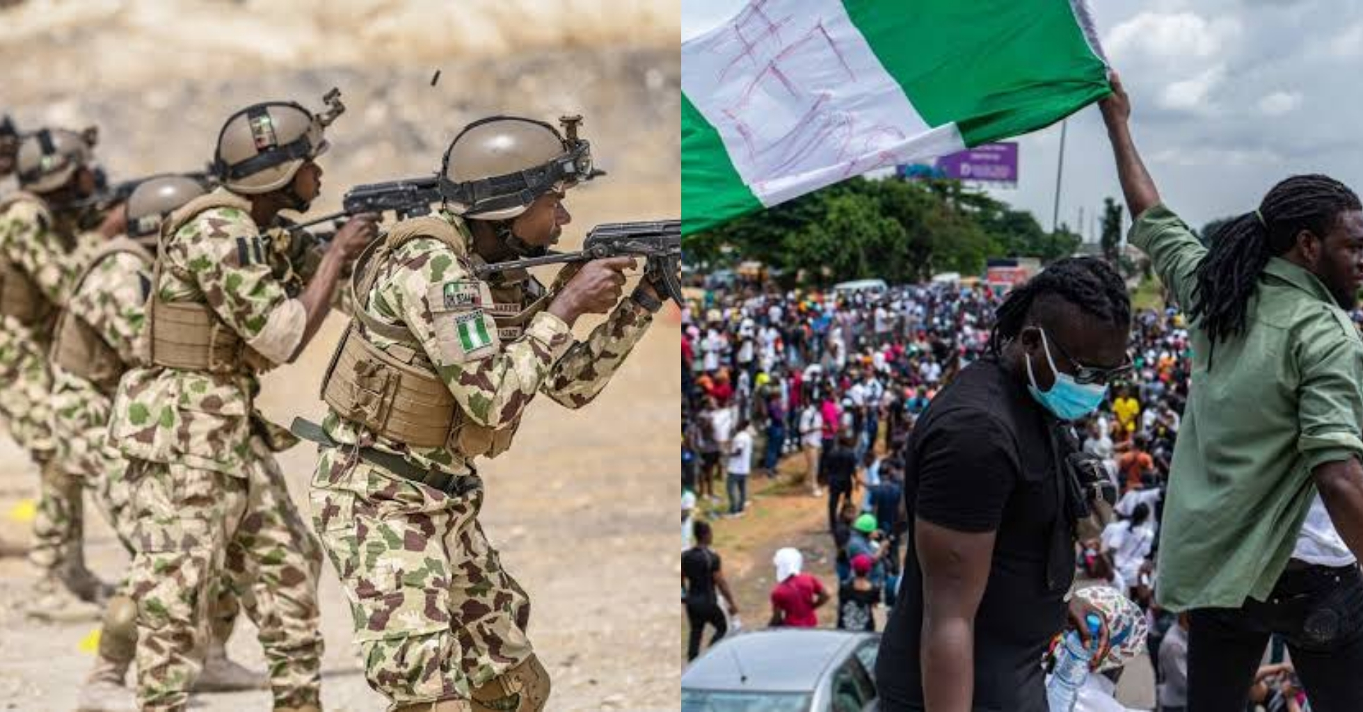 Nigerian Army says Operation Crocodile Smile is not against #EndSARS protesters