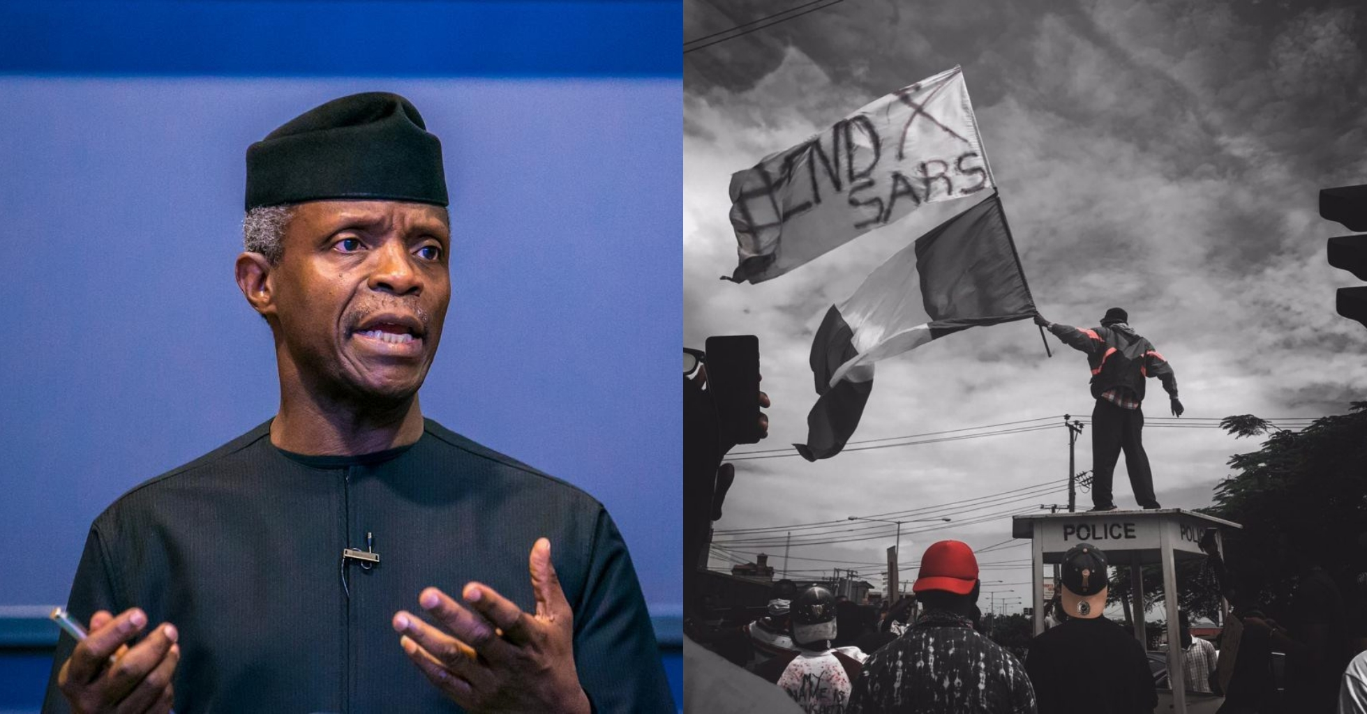 "#EndSARS: ""FG is sensitive and thoughtful about young Nigerians"" – VP Osinbajo"