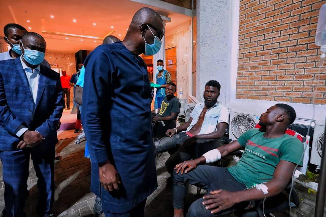 #EndSARS: 'Forces beyond my control shot at protesters in Lekki', says Sanwo-Olu