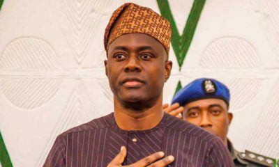 Governor Seyi Makinde walks around the streets of Ibadan to pacify residents