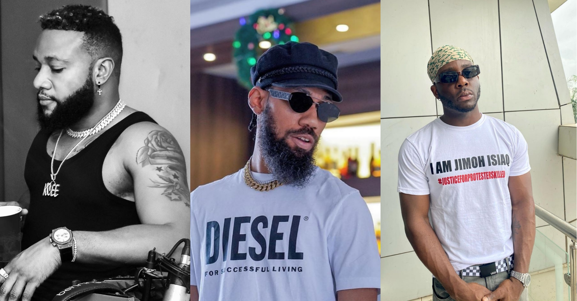 #EndSARS: Hold Enugu State Govt Responsible If Anything Happens To Us – Phyno, Kcee, Zoro