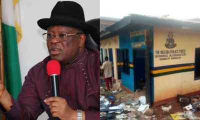 Umahi blows hot, says 'I will not rebuild destroyed properties built in my tenure'