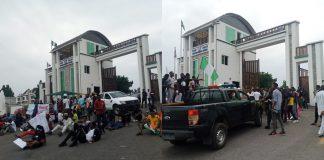 #EndSARS: Protesters block Kogi govt house, denies security operatives access
