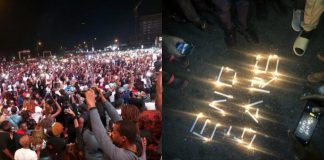 #EndSARS protesters hold candle light vigil across the country (photos)