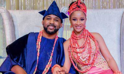 Adesua defends Banky from man who said he is trying to divide the youths