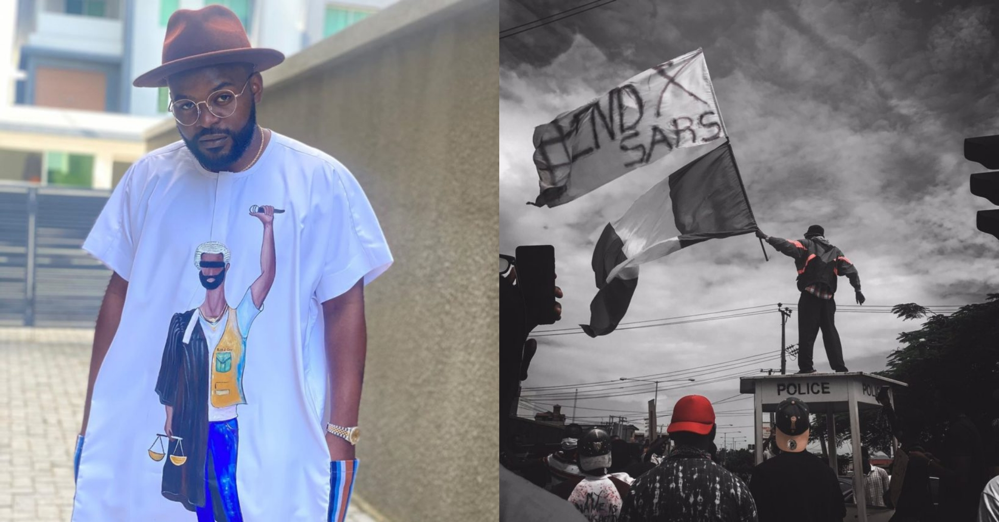 #EndSARS: We'll Be Back After The Curfew – Falz Tells Sanwo-olu (Video)