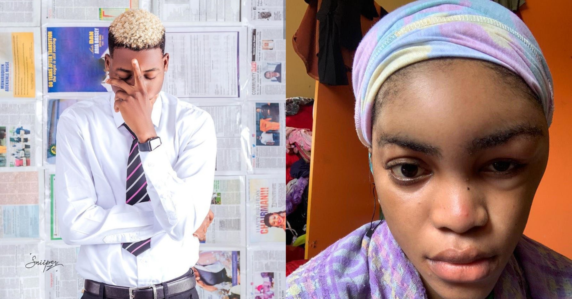 EX DMW Rapper, Lil Frosh Arrested For Beating Girlfriend To Pulp