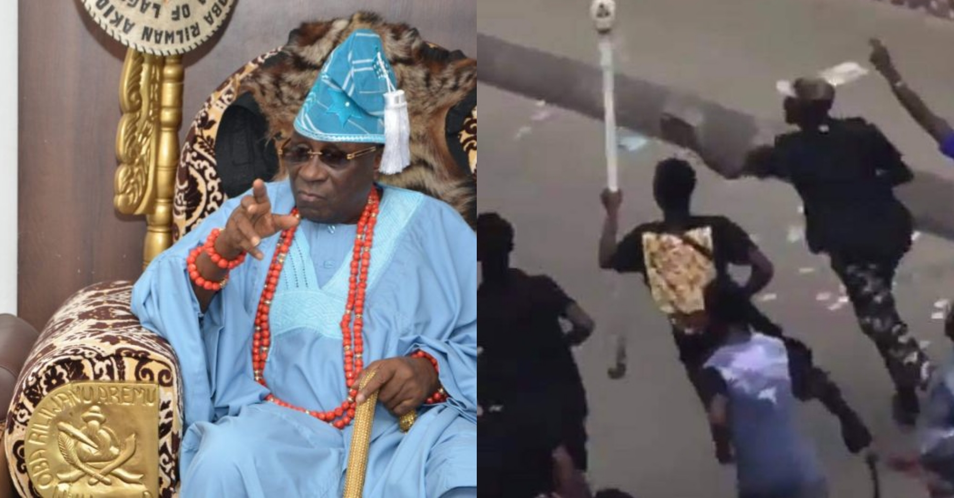 Stolen Oba's staff of office: Lagos ruling house issues ultimatum