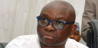 PDP South-West Congress Was A Scam, Says Fayose