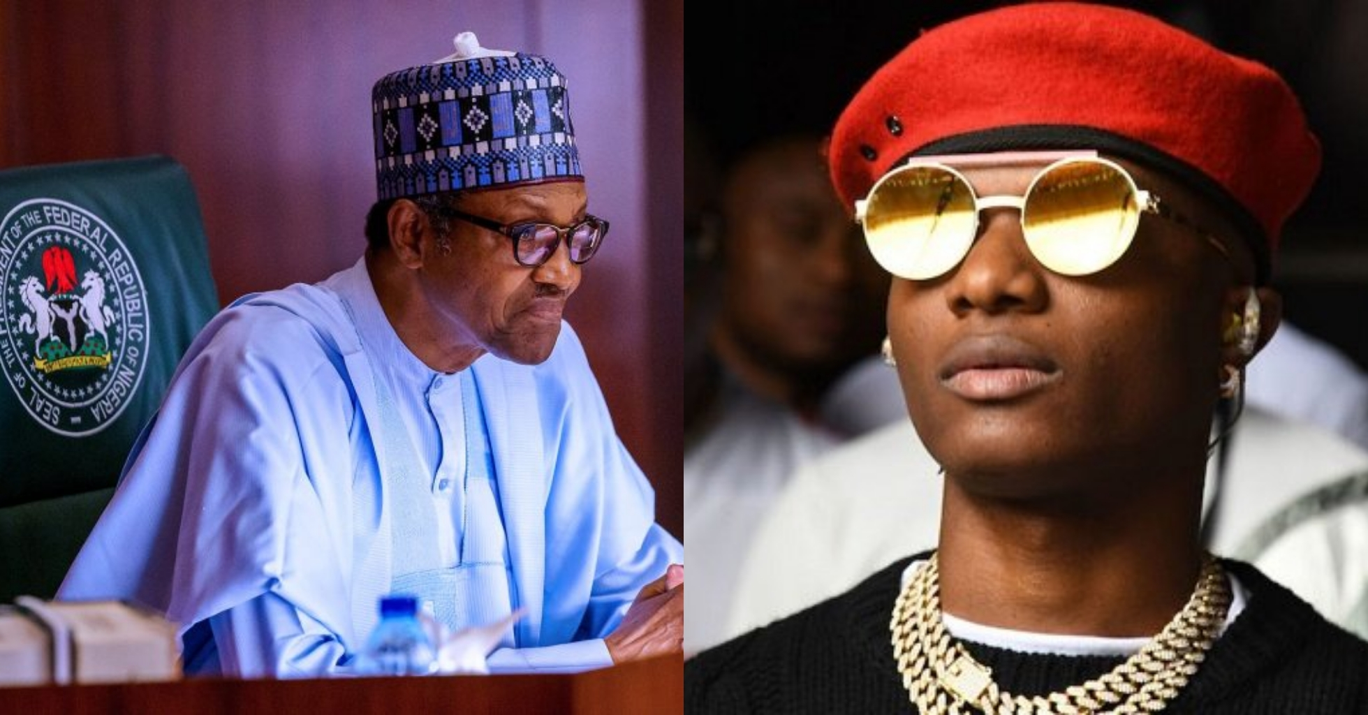 "God, pls help Nigeria"" – Wizkid Tweets after Buhari's speech"