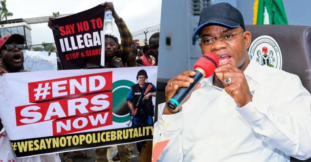 #EndSARS Protests Politically Motivated – Kogi Governor