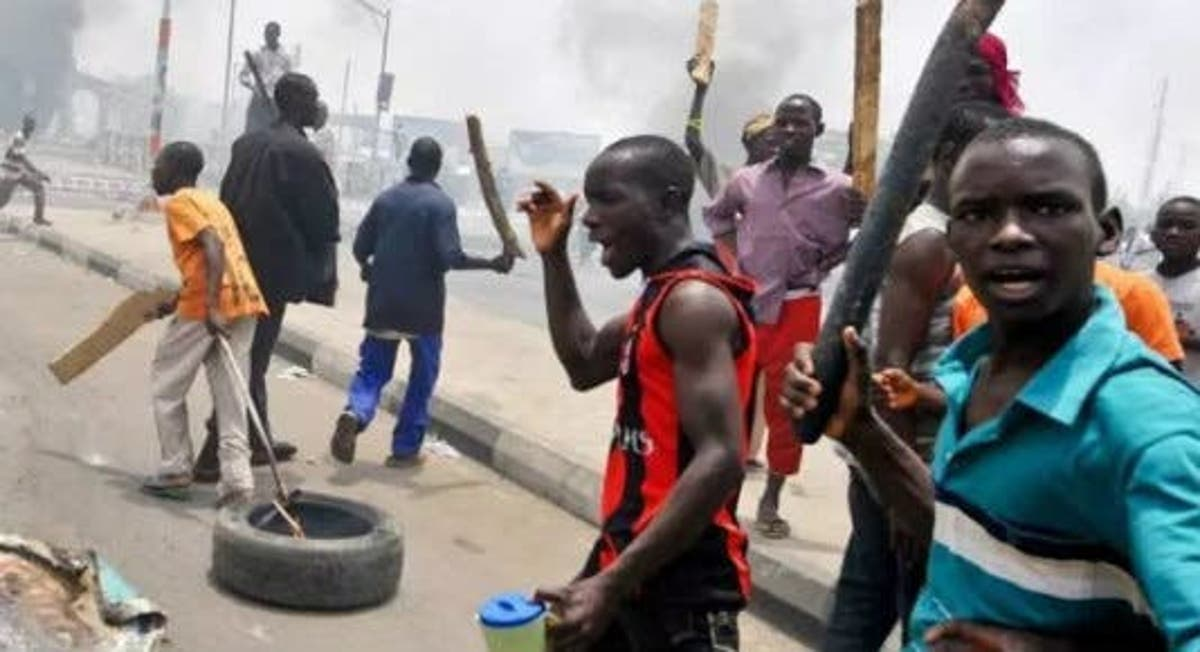 Hoodlums burn down police station in Ebonyi