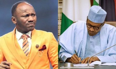 General overseer of Omega Fire Ministries International, Apostle Suleman has said that he is confident that Nigeria doesn't have a President.