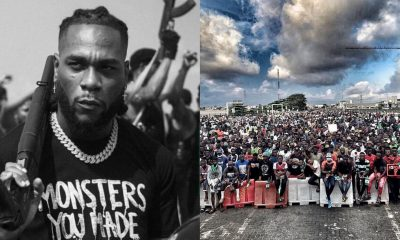 If End SARS protest doesn't work then it might be over for Nigerian youths – Burna Boy