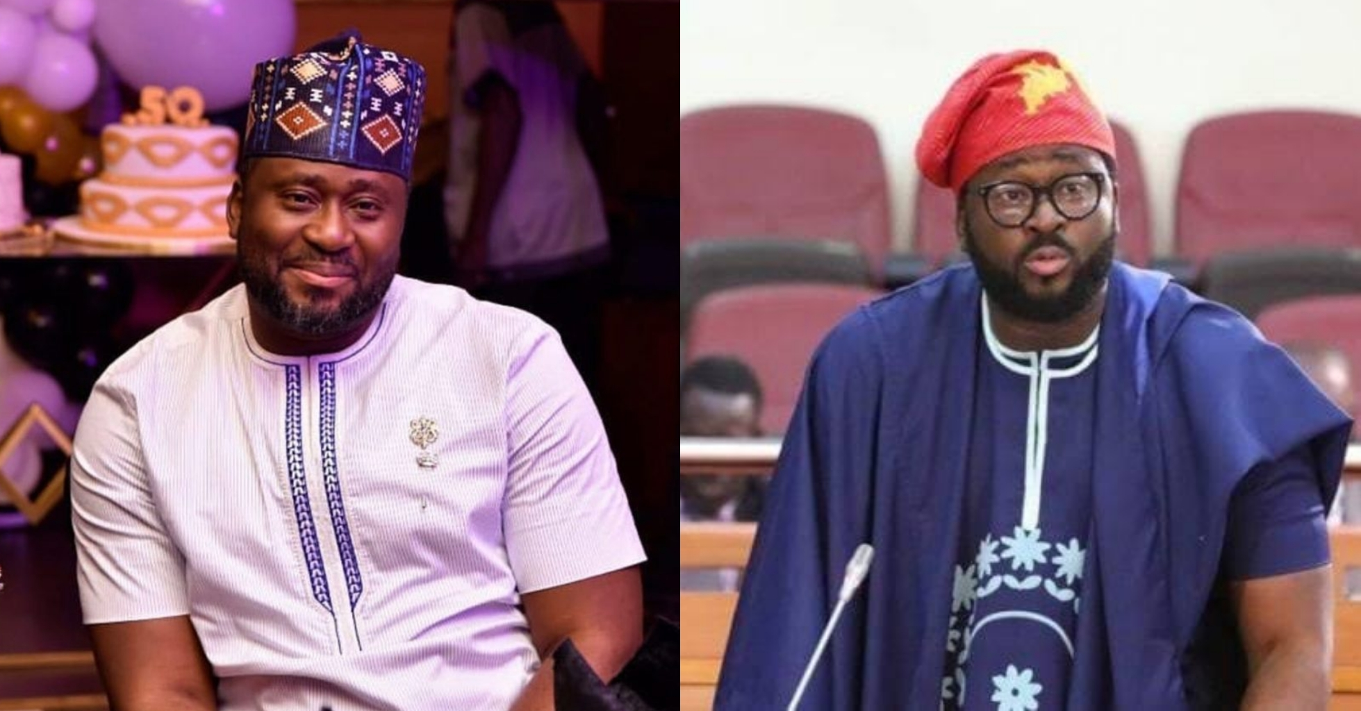"Come and enter government"" – Desmond Elliot tells youth. (Video)"