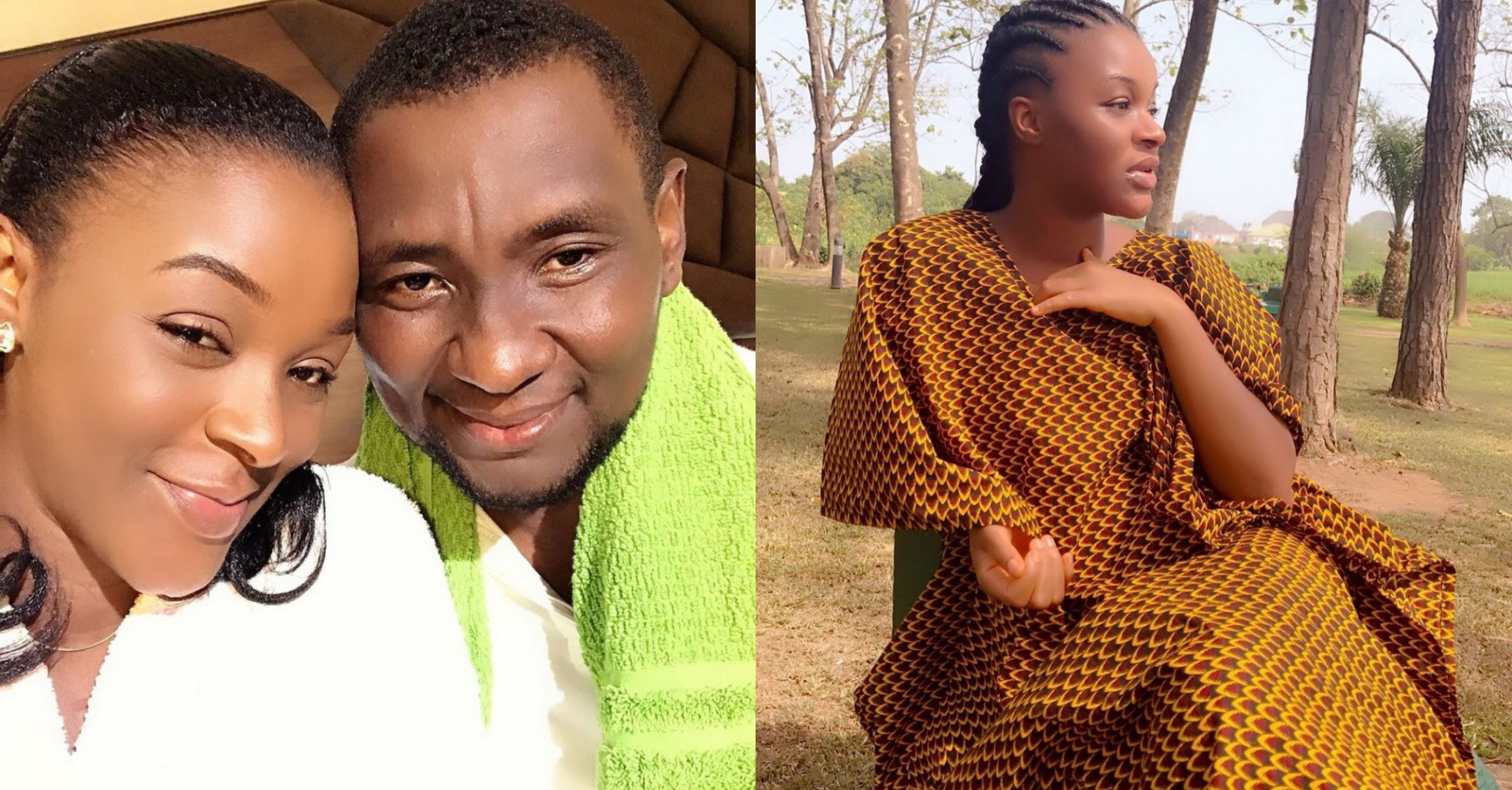Chacha Eke Faani and her husband