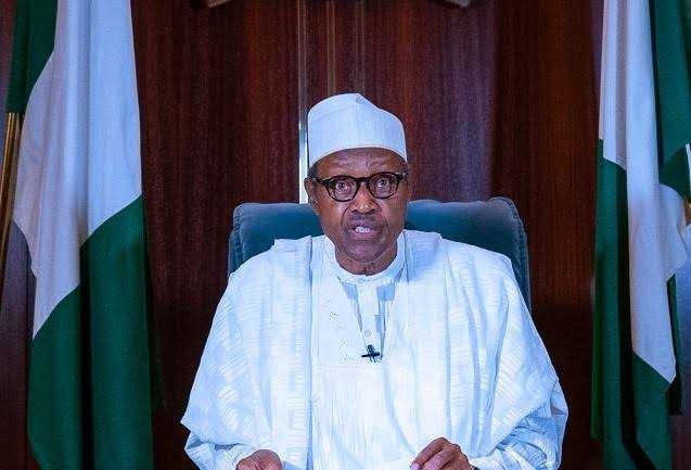 'Waste of 12 minutes'- Nigerians react to Buhari's national broadcast